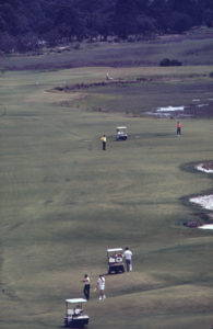 A golf course on Hilton Head Island in 1973. Photo by Paul Conklin, U.S. Environmental Protection Agency, 1973.