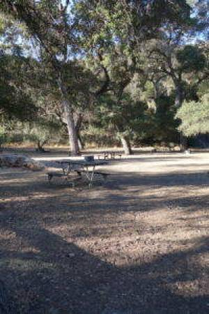 An empty campground