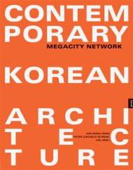 The orange cover of a recent work profiling architect Chu Dae-Kwan's work in rural Kangwan