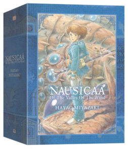 Book cover, Nausicaä of the Valley of the Wind