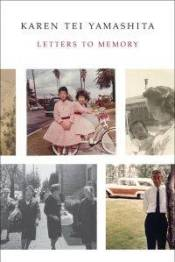 The book cover of Letters to Memory featuring family photos from Yamashita's archive.
