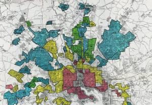 HOLC redlining map of Baltimore, Maryland