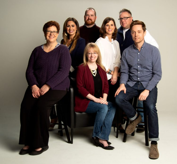 Edge Magazine staff photo