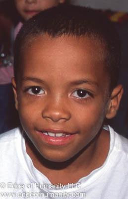 Boy from Rio de Janeiro, Brazil.