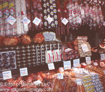 Meat Market - Hungary.