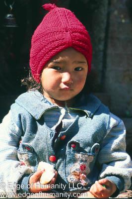 Child - Kathmandu, Nepal.