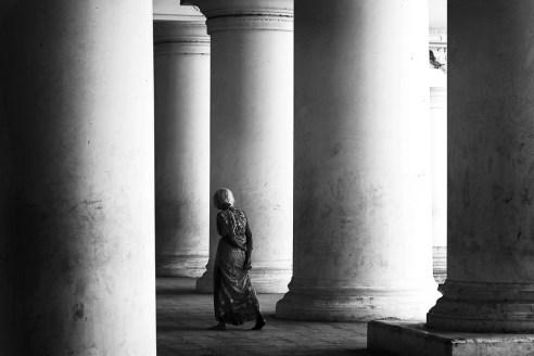 Woman @ Thirumalai Nayakkar Mahal, Madurai