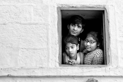 Through window @ Jodhpur