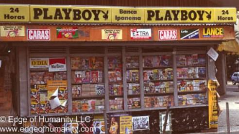 Magazine shop - Rio de Janeiro, Brazil.