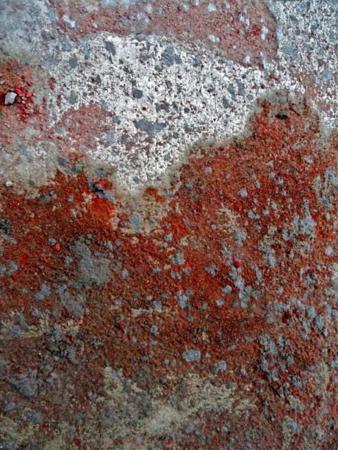 Concrete and brick grit: Gachibowli, Hyderabad, India