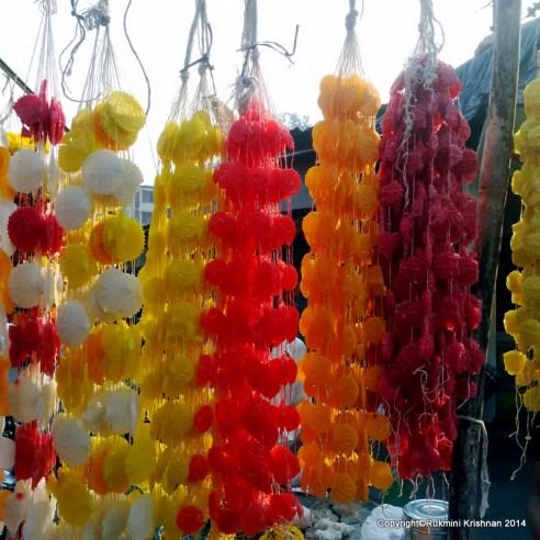 Sugar crystals - Gudi Padva Carnival, India