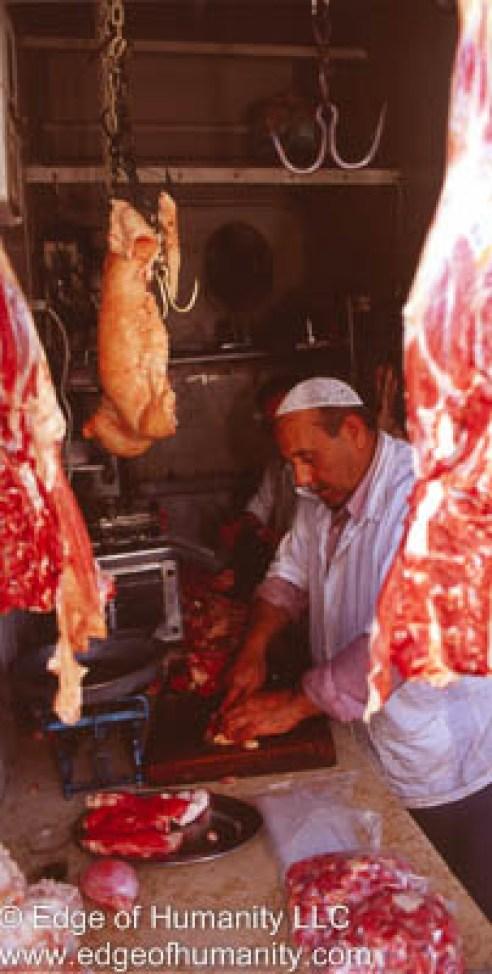 Butcher shop, Syria