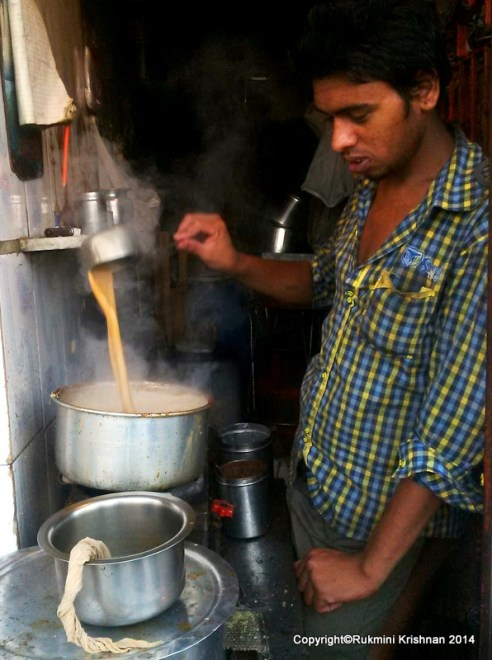 Raju The Chaiwallah - Jambli Naka, Thane, Mumbai, India.
