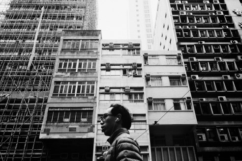 Stories in the rooms above, Hong Kong