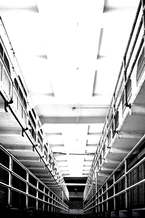 """""""Along"""" Alcatraz, California, USA"""