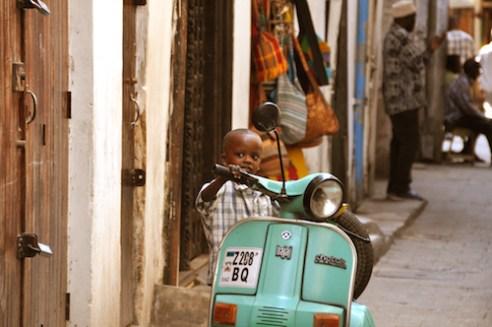 Smiling streets, Stone Town, Zanzibar