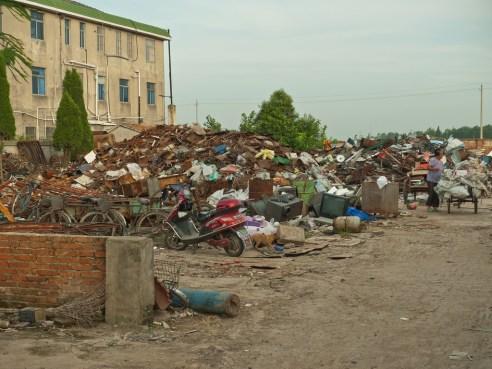"""""""Recycling depot"""" Yancheng, China"""