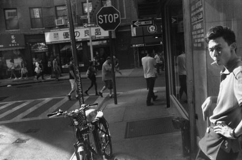 Pell Street near Mott, New York, NY