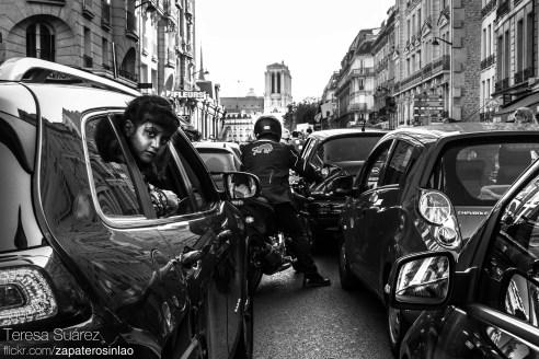 Rue Beaubourg, Paris, France