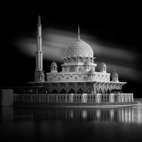 Eid Mubarak, Putra Jaya Mosque - Malaysia