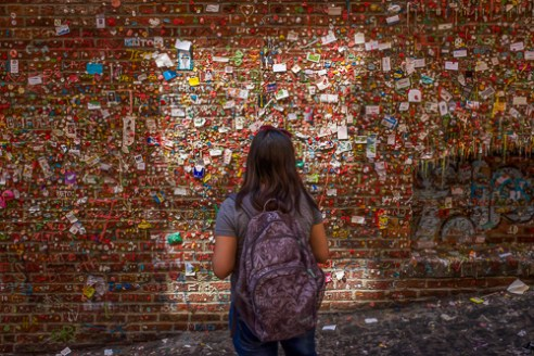 Bubble Gum Wall... Seattle, Washington, USA