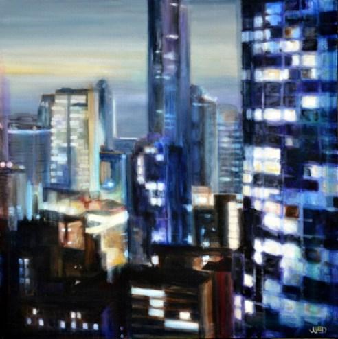 """Balcony"", acrylic on canvas, 2013"