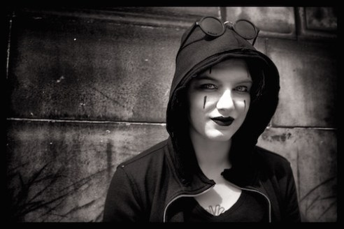 Mime Artist Edinburgh, Scotland