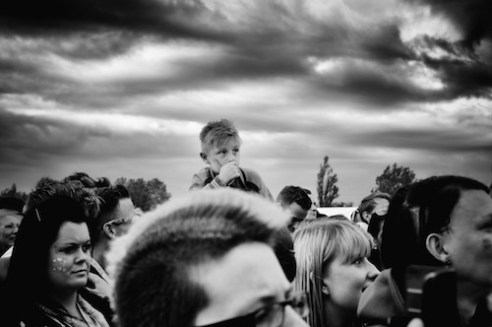 Boy at Concert, Newcastle, England