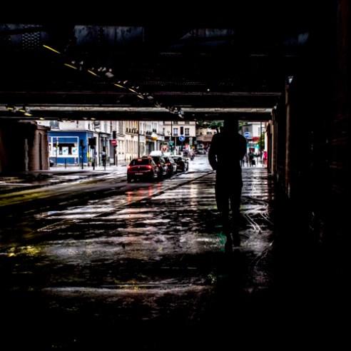 Dirty Lights 001 - Pont de Tolbiac, Paris