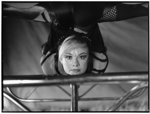 EKATERINA Russian contortionist who continues to perform and now with Cirque du Soliel