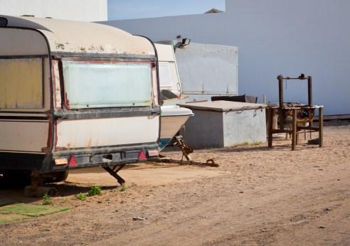 Village of Caravans Punta Jandia, Fuerteventura, Canary Islands
