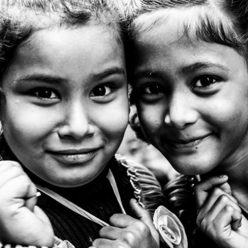 Friends - Varanasi, India