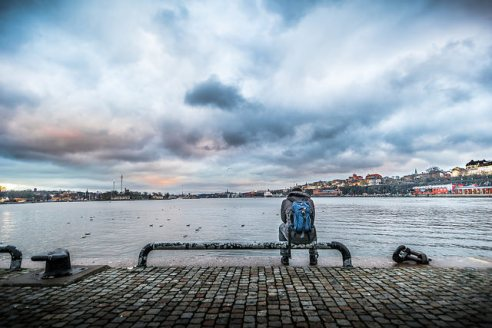 Looking for the sunset – Stockholm, Sweden