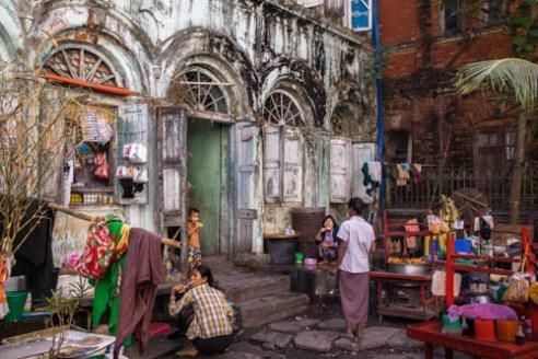 Morning Ritual Yangon, Myanmar