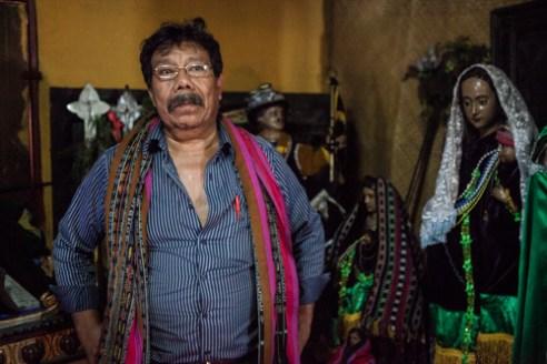 Pedro Ixtulul, brotherhood Mayor.