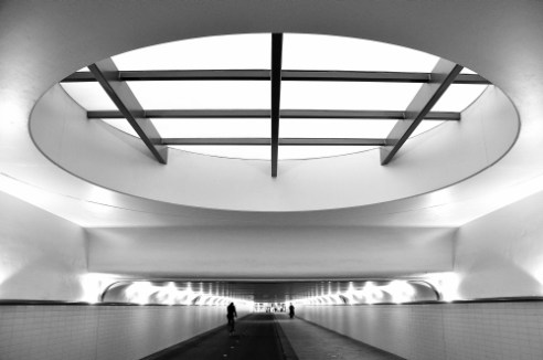 Tunnel Rotterdam, Netherlands