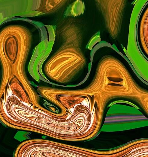 Wooden Embryo - Digital piece