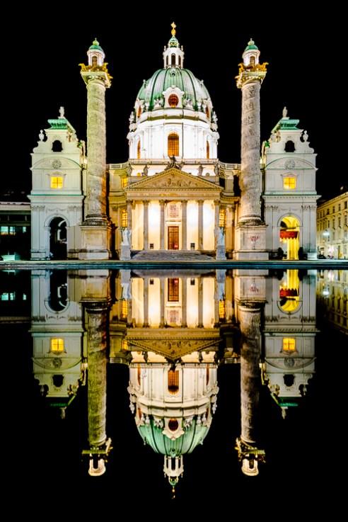 Karlskirche Wien Vienna, Austria