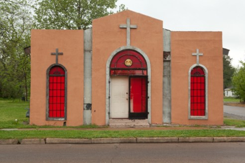 Abandoned church, Clarksdale, Mississippi, USA (2011)