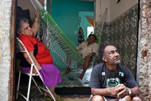 December 2011. A home in favela Rocinha, the largest favela in Rio de Janeiro.