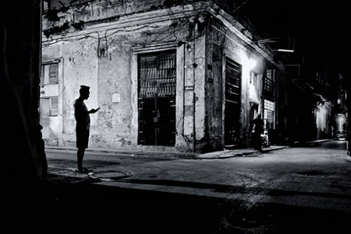 Habana Vieja night life