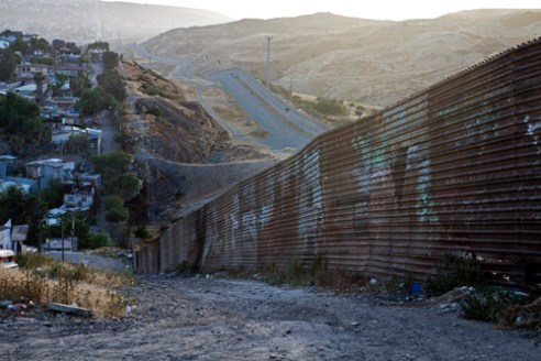 Border wall between México & USATijuana ,Baja California
