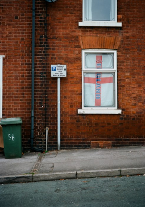Flag from a Window West Bromwich-2015