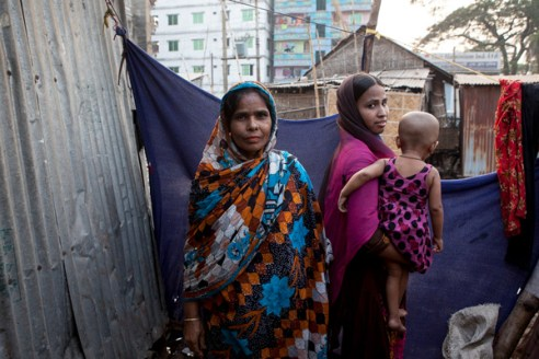 Women in Gazipur, Dhaka, Bangladesh