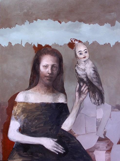The Siren Oil on canvas