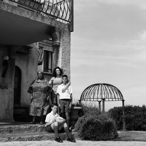Karin & family Jeffreysbaai, South Africa, 2013
