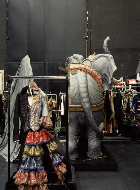 """Neue Flora, Hamburg, 2015 Phantom of the Opera Sidestage """"Split Realities"""""""