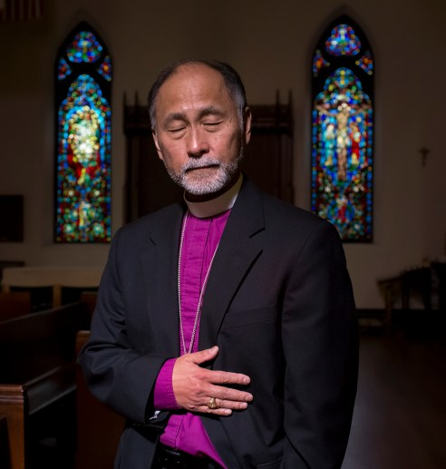 During his freshman year at the University of Washington, Scott worked part-time in a record store. Three robbers entered the store and one of them shouted something. As he turned to the man, the thief fired, hitting Hayashi in the abdomen. He is now the Episcopal Bishop of Utah. Tacoma, Washington, 1972