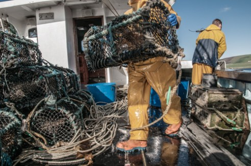 Many still romanticise the traditional image of the fishing industry, men with beards in oilskins. The intense labour and long days, often for six days a week are not as considered.