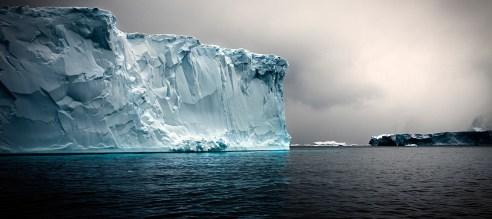Tabular Iceberg Detail Antarctic Sound Antarctic February 2010